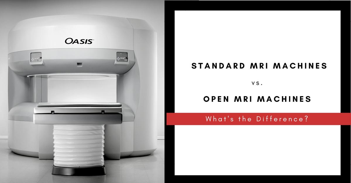Standardvs.OpenMRIs